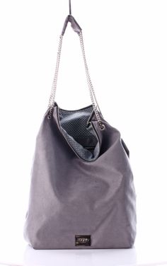Bag of secrets Grey Suede