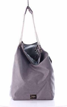 Bag of secrets Grey Suede