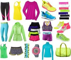 CUTE Workout clothes! I WANT!