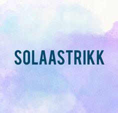 Solaastrikk - Design av strikkede plagg til store og små. Knitting patterns for sale, all patterns are available in engl
