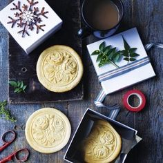 Christmas Springerle Gingerbread Biscuits
