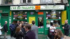 L'As du Fallafel - The best in Paris...so I here