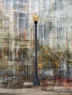 """Pep Ventosa – """"Street Lamps"""" – 16th Street – Técnica: Multiple shots – © 2013 All Images Copyright Protected"""