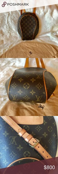 301f8a0ce352 Louis Vuitton Ellipse backpack Authentic Louis Vuitton Ellipse backpack.  Excellent Condition. Dust bag included