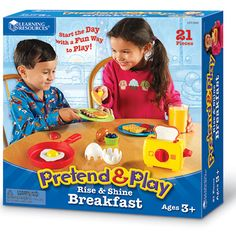 Pretend & Play Rise & Shine Breakfast-Visual-Learning Styles-Special Needs - Learning Resources®