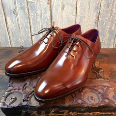 ToBox — Wholecut by @carminashoemaker. Patina by...