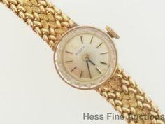Vintage Petite Ladies 15k Yellow Gold Rolex Wrist Watch #Rolex #Fashion