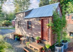 The Tacks built this tiny house in just seven months and it cost under $20,000 in materials, including salvaged and sustainably-sourced wood.