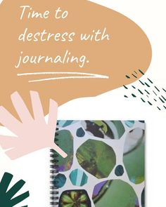 Gorgeous journals designed from handmade collage by Bay Area artist Leora Lutz. A great way to destress and show your appreciation for your best life.