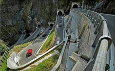 SAN BOLDO PASS - AMAZING PASS :-  The San Boldo Pass is a small mountain pass in the Italian Veneto region between the towns Trichiana (329 m) and Tovena in the Cison di Valmarino region (272 m) over a distance of 17 km (11 mi).  For further details visit www.microlifeindia.org