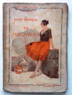 LA MALQUERIDA : DRAMA EN TRES ACTOS . AUTOR: JACINTO BENAVENTE. EDITORIAL: PRENSA MODERNA, 1926. COLECCION: EL TEATRO MODERNO; 32. http://kmelot.biblioteca.udc.es/record=b1121386~S1*gag