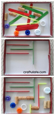 DIY Marble Run, maybe use a recycling theme for a donation coin maze?