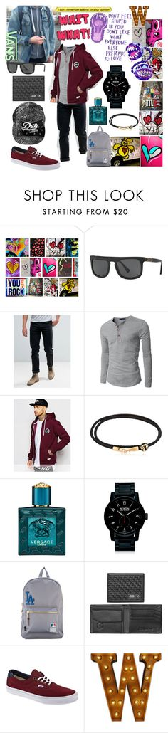 """ERA 59"" by aliceridler ❤ liked on Polyvore featuring Dolce&Gabbana, Lee, Doublju, Hype, Luis Morais, Versace, Nixon, Herschel Supply Co. and Vans"
