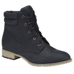 boty, dámské boty, levné boty, černé boty, pohorky, boty na zavazování : F&F