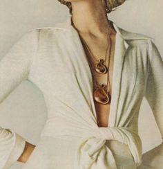 Elsa Peretti -  bottle pendant necklace for Halston 1970s