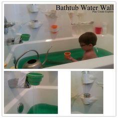 Play Create Explore: Themed Bath Thursday: Bathtub Water Wall