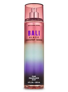 Bali Black Coconut Sands Fine Fragrance Mist | Bath & Body Works