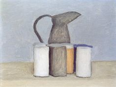 still life painter morandi - Google Search