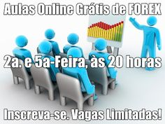 Prezados Traders! ATENÇÃO! Não perca as AULAS ONLINE GRÁTIS DE FOREX.  Hoje, Quinta-Feira (28 de Novembro) às 20 horas (hora de Brasília). Qual a melhor estratégia a ser aplicada nas minhas negociações? Análises e Estratégias para Traders - Especial Padrões de Velas. E muito mais! SE INSCREVA AQUI. http://www.roboforex.pt/beginner/webinars/ Vagas Limitadas.