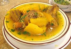 Colombian Chicken and Vegetable Soup (Sancocho de Gallina) - Latin Deli Colombian Dishes, Colombian Food, Colombian Recipes, Food Network Recipes, Cooking Recipes, Healthy Recipes, Healthy Food, Venezuelan Food, Venezuelan Recipes