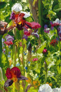 JAN DE VLIEGHER - Iris Garden Series 2013
