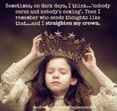 ****Always wear your tiara high and make sure you shine it every day!!!! So Keep your tiara right & bright