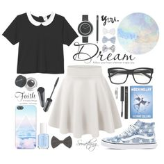 Just breathe by alexandra-provenzano on Polyvore featuring moda, Monki, Vans, Georg Jensen, NOVA, New Look, Forever 21, Bobbi Brown Cosmetics, Shiseido and NARS Cosmetics