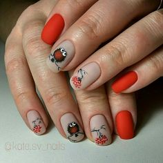 Hey there lovers of nail art! In this post we are going to share with you some Magnificent Nail Art Designs that are going to catch your eye and that you will want to copy for sure. Nail art is gaining more… Read Bird Nail Art, Cute Nail Art, Cute Nails, Pretty Nails, Square Nail Designs, Simple Nail Art Designs, Best Nail Art Designs, Winter Nails, Summer Nails