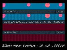Ribbon Maker Overlay by slavetofashion69
