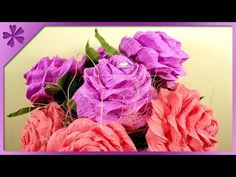 DIY Roses with candy technique (ENG Subtitles) - Speed up #18 - YouTube