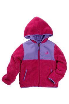 Solid Reversible Sherpa Jacket