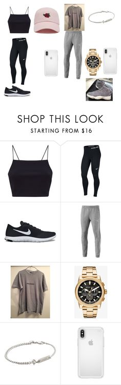 """Untitled #4"" by quinnrivers1217 ❤ liked on Polyvore featuring NIKE, Puma, Michael Kors, A.P.C., Speck and Forever 21"