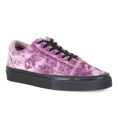 f2e75316295 Vans Womens Old Skool Velvet Trainers (Purple) - Womens from Loofes UK