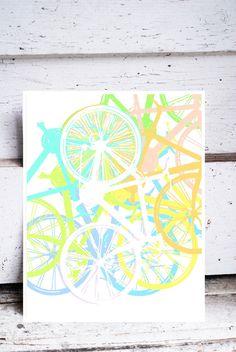 bike art- etsy
