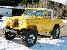 1968 Jeep C101 Commando--what's not to love?!