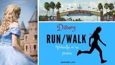 Information on Disney Runs and Walks to do in person or virtually. Running Humor, Running Motivation, Running Training, Running Tips, Disney Races, Run Disney, Disney Land, Half Marathon Training, Marathon Running