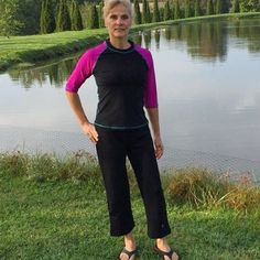 After Terry from #MyJourneyWithCandida got sun poisoning from a bad sunburn, she decided to do research so she would be better prepared for the sun. Luckily she found #HydroChic swimwear that has UPF 50+ sun protection! I can get out in the sun and not h