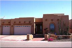 sante fe homes Santa Fe Home, Santa Fe Style, Adobe House, Custom Built Homes, Southwest Style, Exterior Colors, Construction, Outdoors, Houses