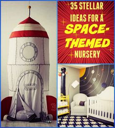 35 Out-Of-This-World Ideas For A Space-Themed Nursery (or playroom ☺)