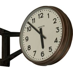 Image result for modern double sided wall clock