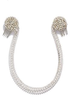 Nestina Accessories 'Magnolia' Bridal Head Piece available at #Nordstrom