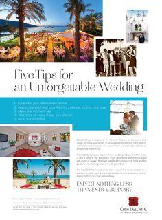 Tips for an Unforgettable Wedding! #weddings #bodrumweddings #casadellarte #weddingtips
