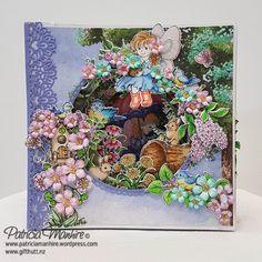 #HeartfeltCreatons #SingingintheRain collection layered card/book