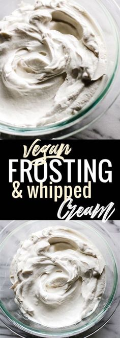 Vegan frosting has never been so easy to make! Making fluffy, gluten-free coconut cream vegan frosting takes 2 ingredients and just one method. This coconut cream vegan frosting is super delicious, healthy, paleo friendly, and EASY! Yes! SIMPLE to make. www.cottercrunch.com