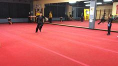 """This jumping technique is called the Jump Inside Kick, a long-range attack to the head. Its most popular name is the Tornado Kick or in Chinese translation """". Basking Ridge, Most Popular Names, Chinese Martial Arts, Tornados, Training Center, Kung Fu, Kicks, Range, Fitness"""