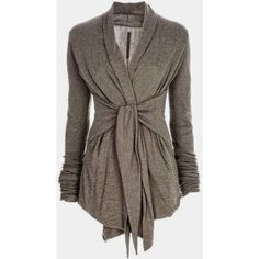 The Vogue Fashion Gray Light Weight Wrap Up Cardigan ❤ liked on Polyvore featuring tops, cardigans, grey cardigan, wrap cardigan, lightweight cardigan, gray cardigan and lightweight tops
