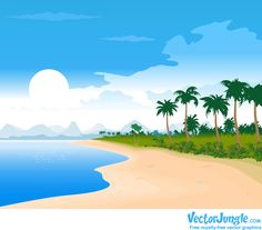 Check out this vector summer beach image featuring a nice and sunny day at the beach. War Photography, Types Of Photography, Aerial Photography, Wildlife Photography, Landscape Photography, Strand Wallpaper, Beach Wallpaper, Photo Summer, Summer Beach