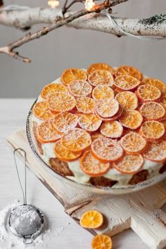 super gorgeous citrus cake-perfect for winter :)