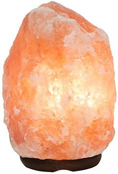 Rakaposhi Natural Himalayan Salt Rock Lamp w/ 6' UL Listed Dimmer Switch - 8-11 inch / 9-13lbs - http://lamps.nationalsales.com/rakaposhi-natural-himalayan-salt-rock-lamp-w-6-ul-listed-dimmer-switch-8-11-inch-9-13lbs/