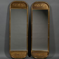 Two Mirrors | Sale Number 2661B, Lot Number 586 | Skinner Auctioneers